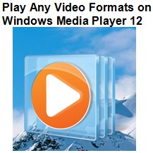 Play any video formats on Windows Media Player 12