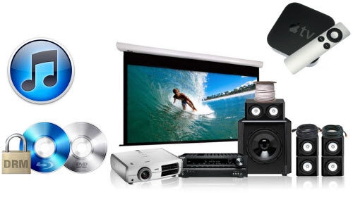 Watch iTunes movies on home theater system