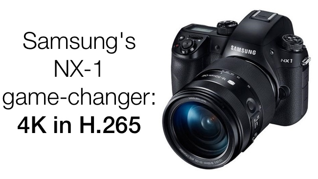 Samsung NX1 H.265 to QuickTime MOV