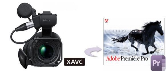 Import XAVC MXF to Premiere Pro CC
