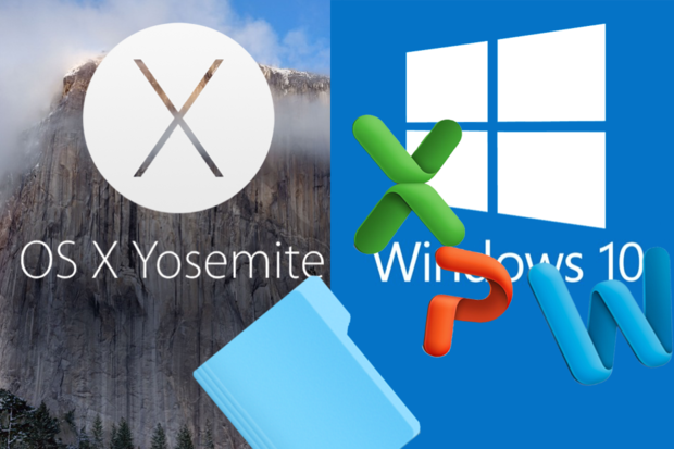 Difference between Mac OS X 10.10 Yosemite and Windows 10