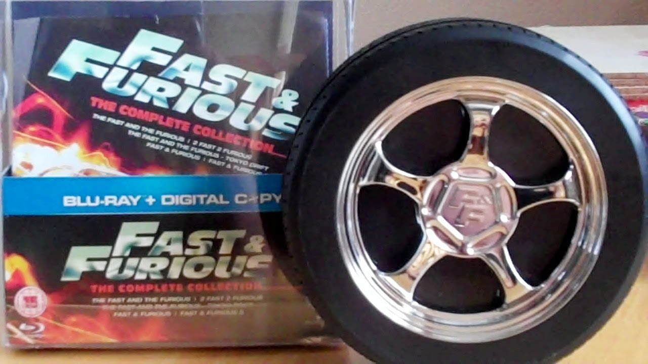 fast and furious 1-6 collection Blu-ray DVD
