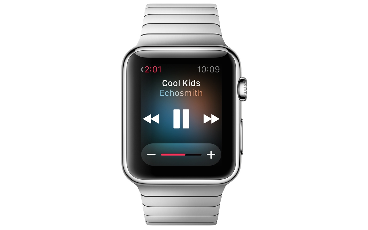 Play audio on Apple Watch