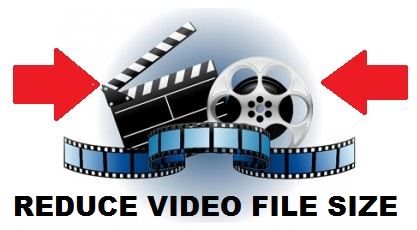 Reduce video movie file size