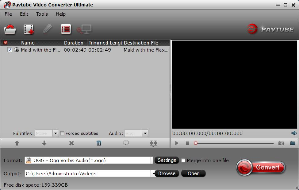 Load MP3 audio files