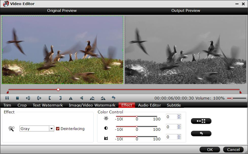 Deinterlace video with Pavtube Video Converter Ultimate