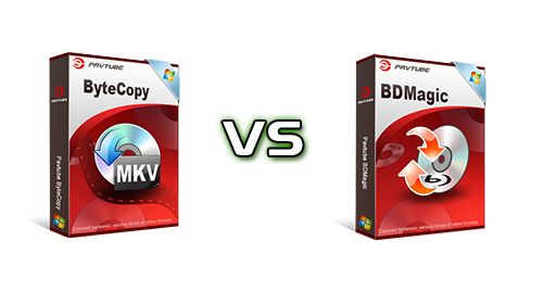 Comparison of Pavtube BDMagic Windows/Mac and ByteCopy Windows/Mac