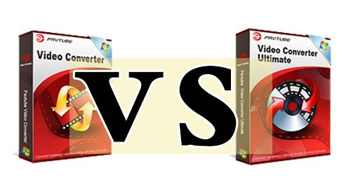 Comparison of Pavtube Video Converter and Video Converter Ultimate