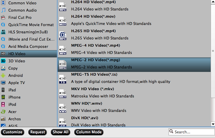 Add iMovie project video files