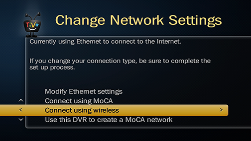 Connect to home network