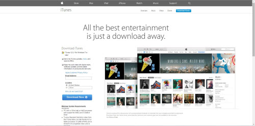 Download latest iTunes version