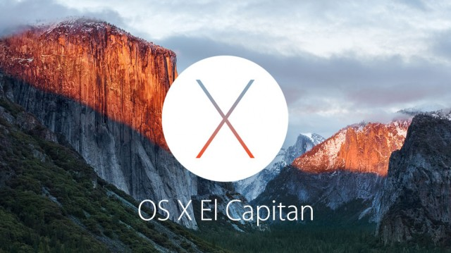 Apple Introduces OS X El Capitan with Many Great New Features