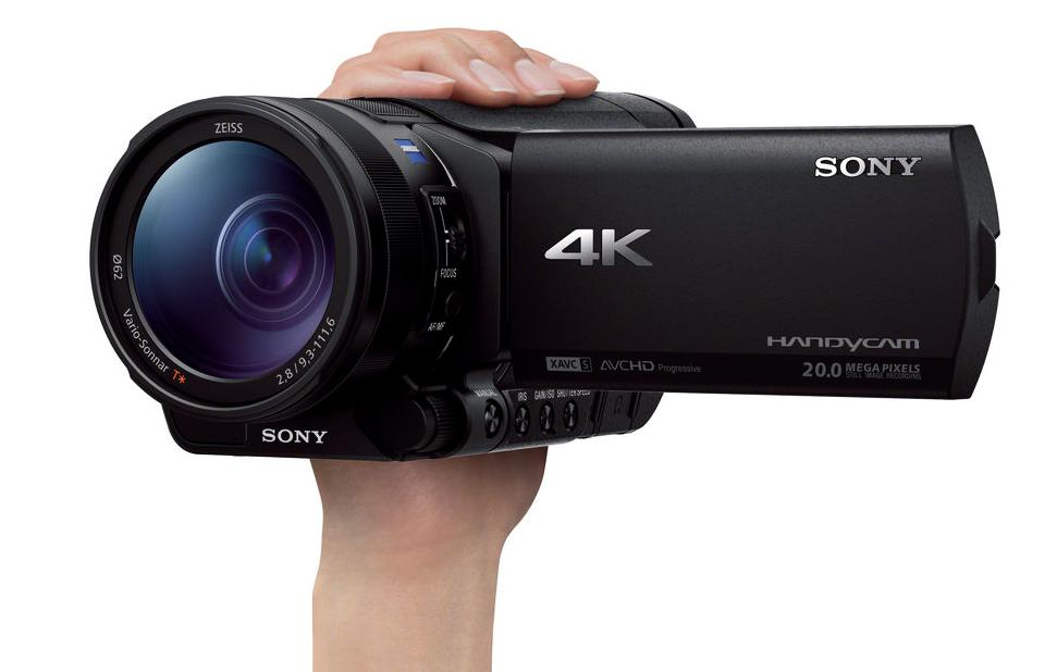 Sony FDR-AX100 camcorders