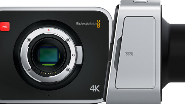Blackmagic 4K camera