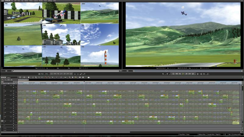 Edius Pro interface