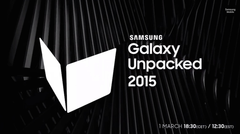 Samsung Galaxy 2015 unpacked events