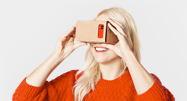 Watch 3D video on Google Cardboard