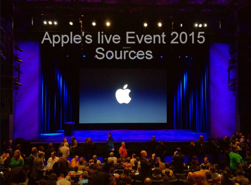 Apple Event 2015 With Unveils iPhone 6S/6S Plus, iPad Pro, New Apple TV and Apple Watch OS2