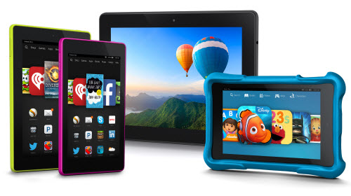 Amazon new Fire tablets