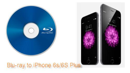 Blu-ray to iPhone 6S/6S Plus