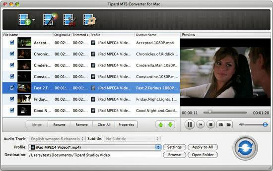 Aiseesoft MTS M2TS Converter for Mac