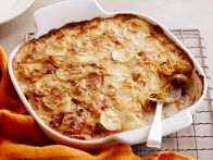 Caramelized Vidalia Onion and Potato Gratin with Fresh Sage