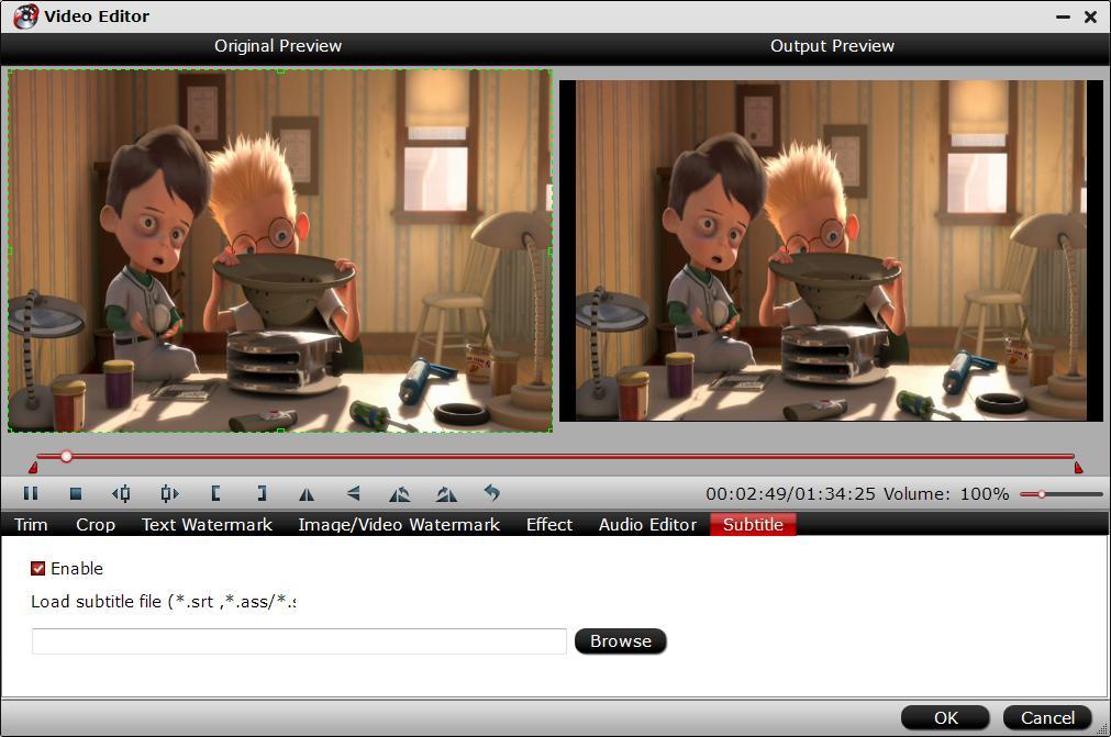 Add external subtitles