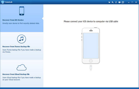 Aiseesoft FoneLad iPhone Data Recovery