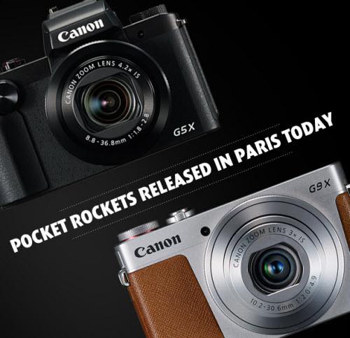 Canon PowerShot G5X G9X