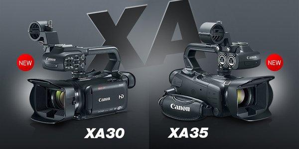 Canon XA35/XA30
