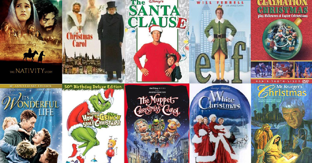 Top Ten Classic Christmas Movies