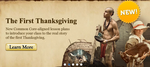 Scholastic First Thanksgiving Videos