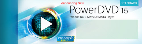 PowerDVD 15 Standard