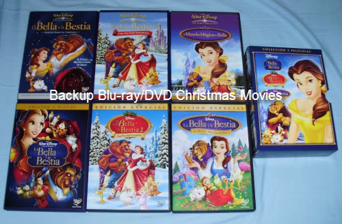 Backup Blu-ray/DVD Christmas Movie Collection