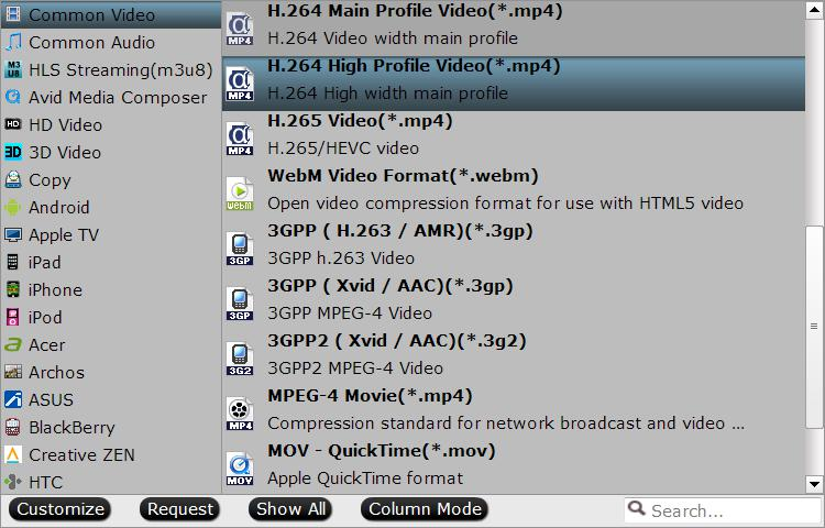 output chromecast best compatible file formats How to Convert AC3 Audio in MP4/MKV to AAC Easily