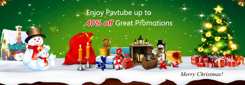 Pavtube 2015   Christmas Great Promotion