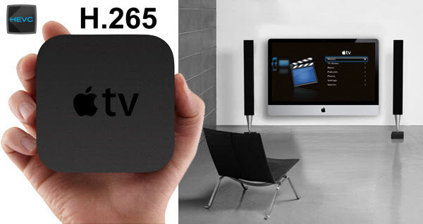 Stream H.265 Video to Apple TV Via Plex