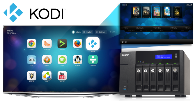 QNAP NAS on Samsung TV via Kodi