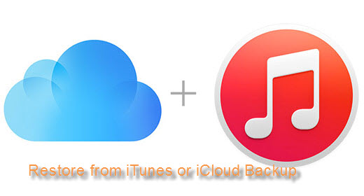 How to Restore iPhone/iPad/iPod File from iTunes/iCloud Backup File?