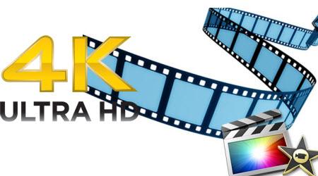 Import 4K video to iMovie