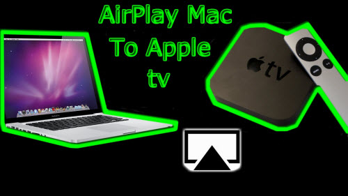Airplay Blu-ray from mac to tv via apple tv