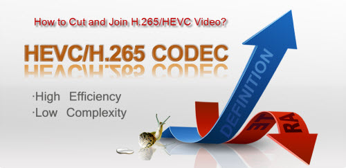 Cut and join H.265/HEVC video