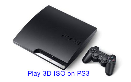 Play 3D ISO on PS3