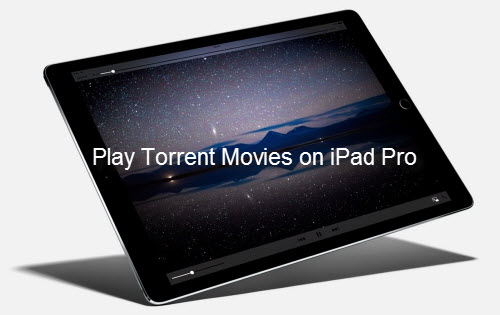 Play Torrent Movies on iPad Pro