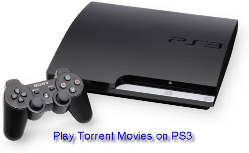 Play Torrent Movies on PS3