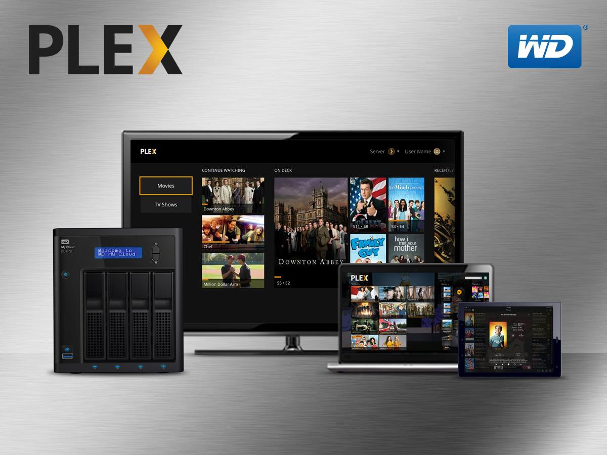 plex on wd my cloud mirror