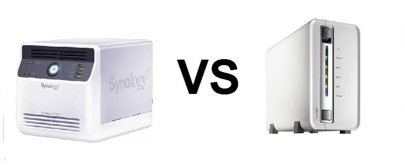 Difference between Synology NAS and QNAP NAS