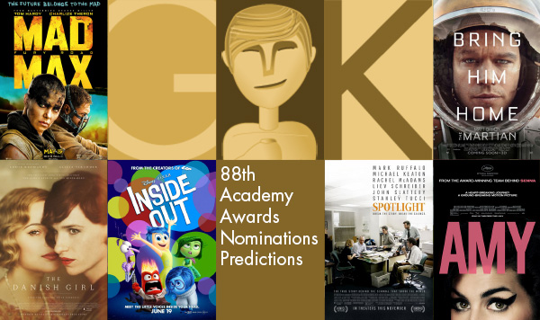 Best Tips/Review of 2016 Oscars Nominations For Movie Fans