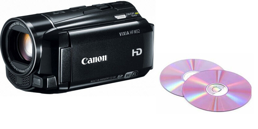 Create DVD from Canon HD video recorder Video