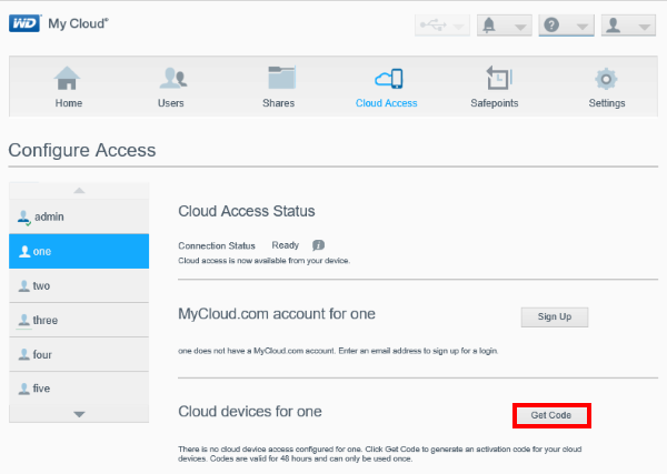 Access Files on My Cloud via My Cloud Mobile App